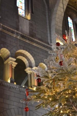 Décoration de Noël Cathédrale Notre Dame à Monaco