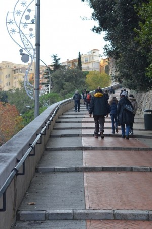 Escaliers de la Condamine à Monaco