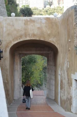 Descente vers le Condamine à Monaco