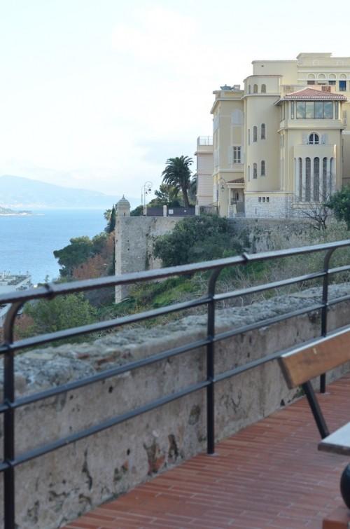 Vue sur la mer à Monaco