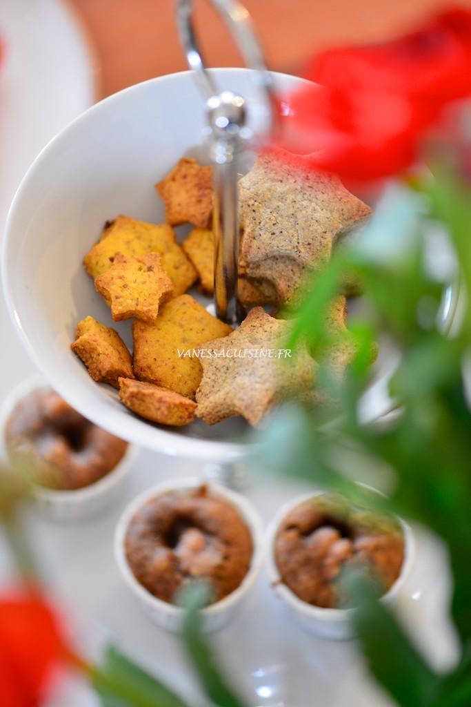 Sablé de Noël à la farine de maïs et à la bergamote (sans gluten) - Christmas cookie (gluten free) - Vanessa Romano photographe et styliste culinaire