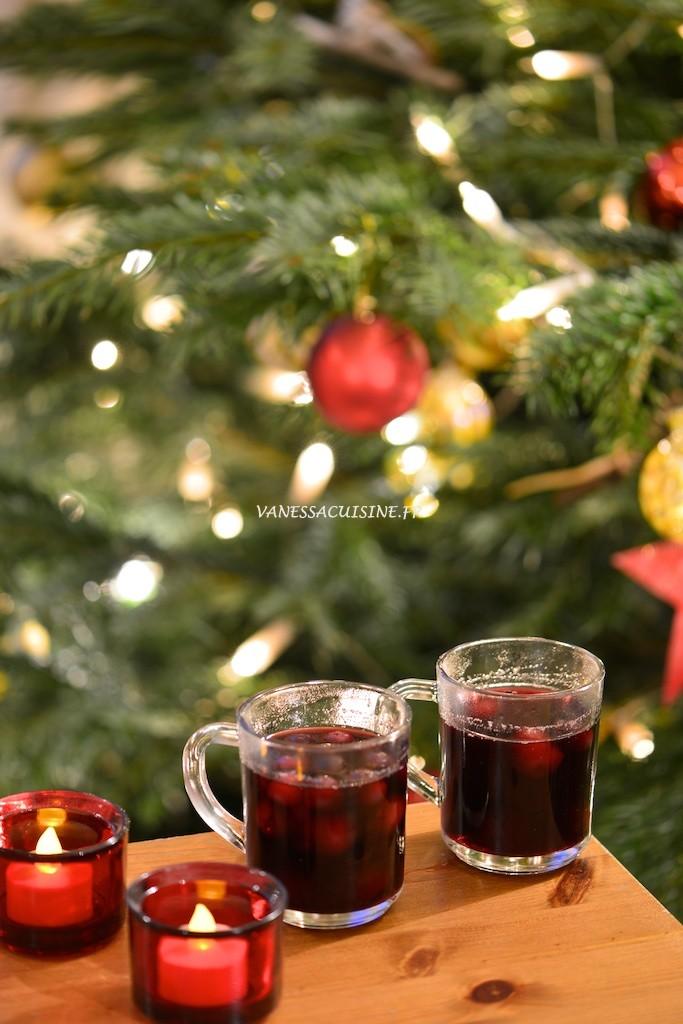 recette de beerenpunsh vin chaud aux fruits rouges