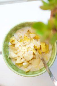 recette de petit déjeuner simple et healthy sans gluten ni laitage de Marion Kaplan