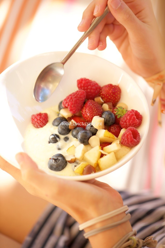 recette de petit déjeuner en terrasse