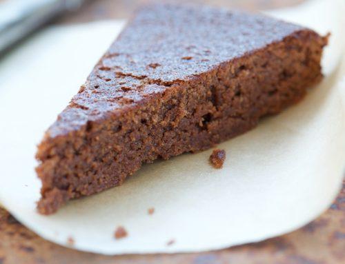 Gâteau moelleux au chocolat et à la châtaigne (sans gluten)