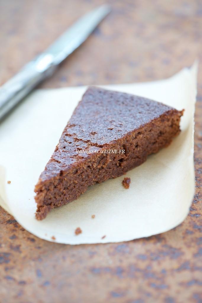 Cake Chocolat Sans Gluten Moelleux