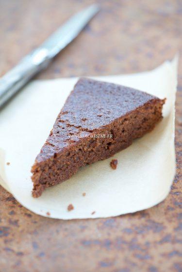 recette de gâteau au chocolat et à la châtaigne sans gluten