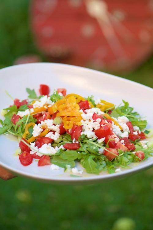 La salade d'été de Gwenny