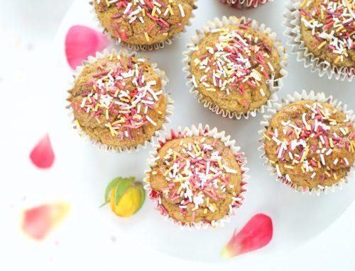 Muffins à la vanille (vegan et sans gluten)