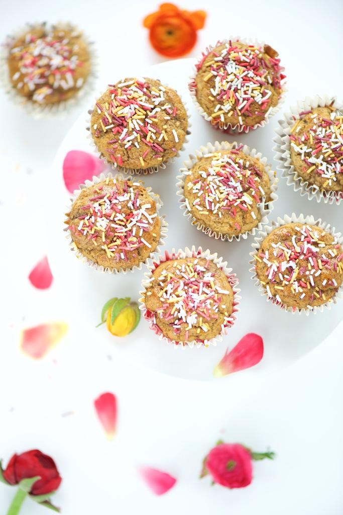 Muffins à la vanille vegan
