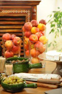buffet pour le Beaujolais nouveau