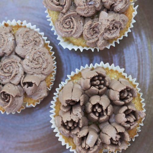 recette de cupcakes crème au chocolat