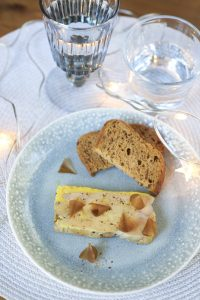 recette de foie gras aux copeaux de cèpes