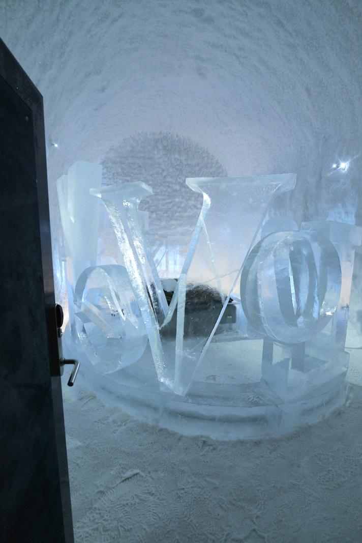 photo de la chambre Love du Icehotel 365