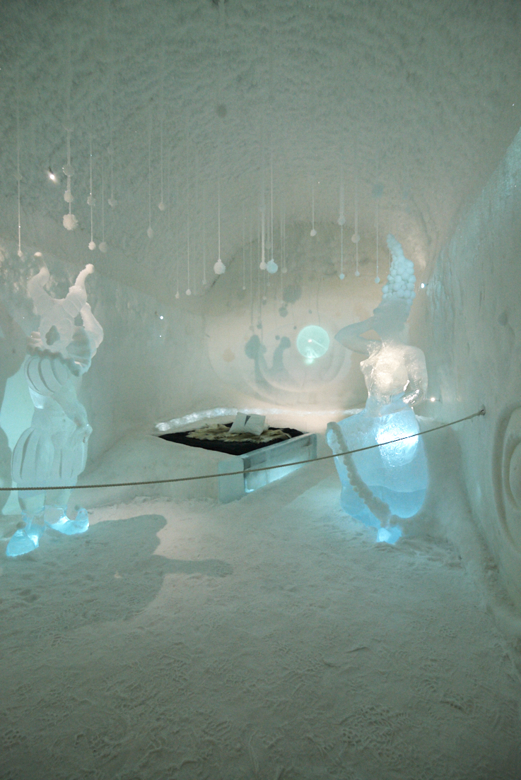 Chambre au icehotel 365