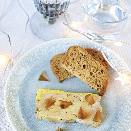 recette de terrine de foie gras selon Alain Ducasse