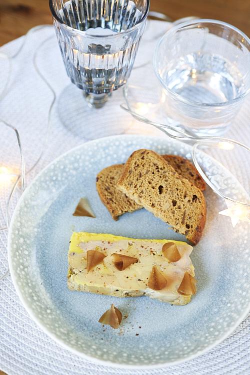 Foie gras comme le fait Alain Ducasse