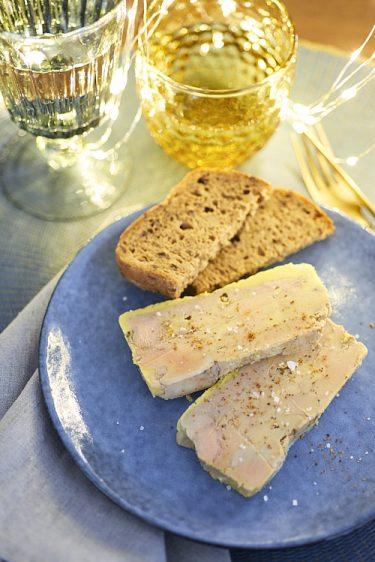 recette de terrine de foie gras au piment d'Espelette