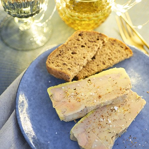 Terrine de foie gras au piment d'Espelette