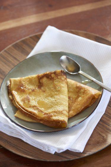 recette de crêpes à la farine de maïs et sans gluten