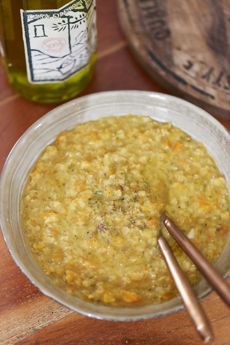 recettes de lentille corail carottes et thym