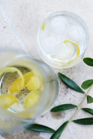 recette de canarino glacé ou infusion glacée au citron