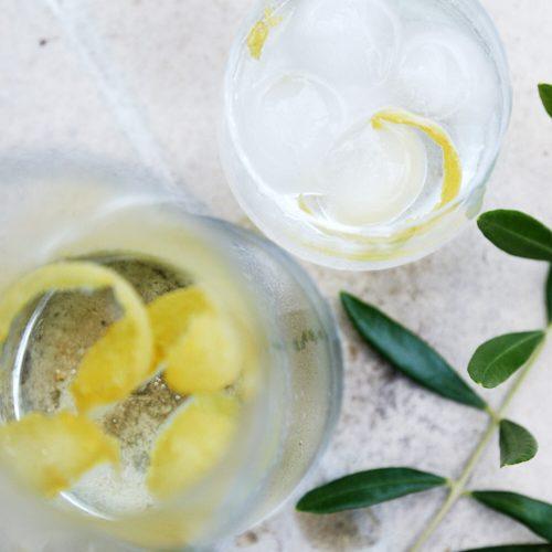 Canarino ou infusion glacée au citron