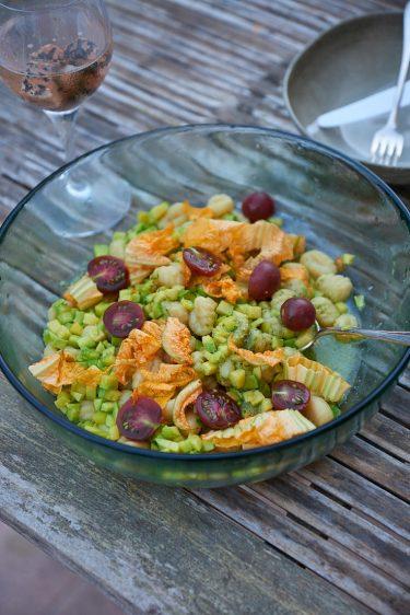 recette de gnocchi aux courgettes et au pesto