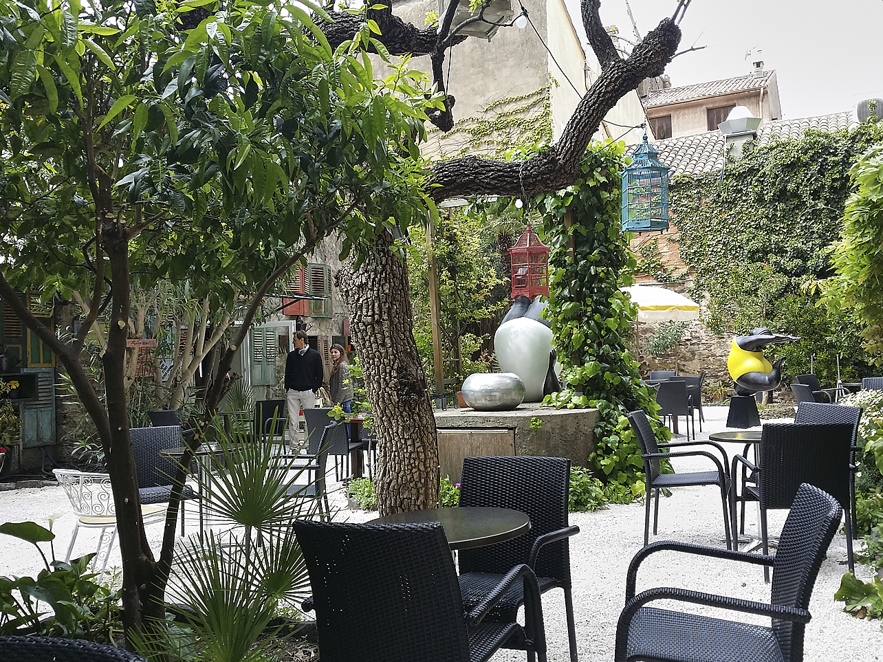 Jardin du Mugs à Saint Raphaël