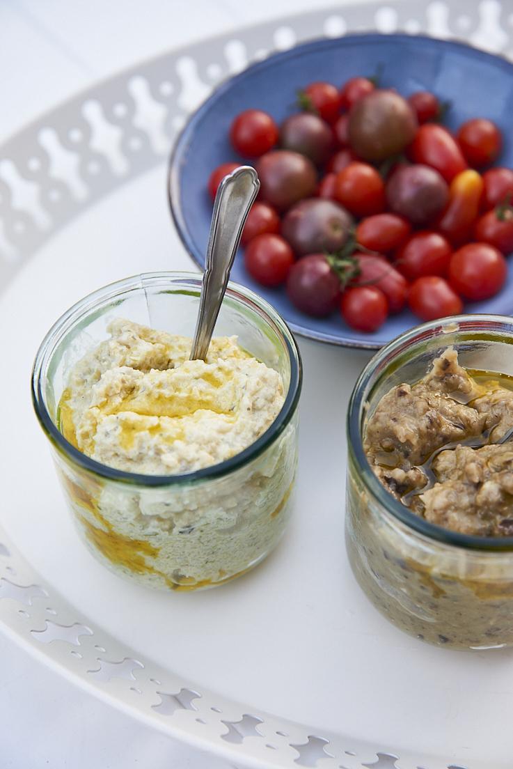 Crème de courgettes au fromage frais et aux herbes