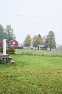 La campagne à Svedjan ost Laponie suédoise