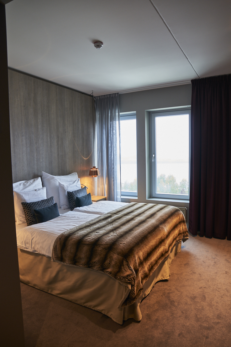chambre du Kust hôtel Pitea