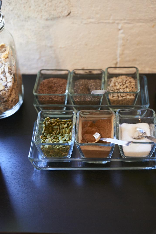 Accompagnements pour le porridge du matin à Hulkoff