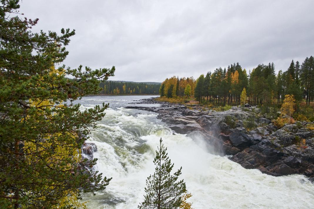 Les chutes d'eau de Jockfall