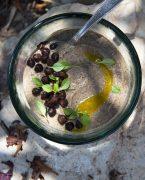 recette de houmous noir