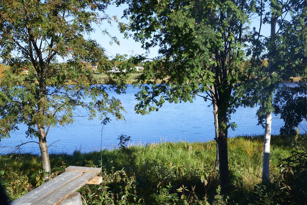 Rivière Kalix en Suède