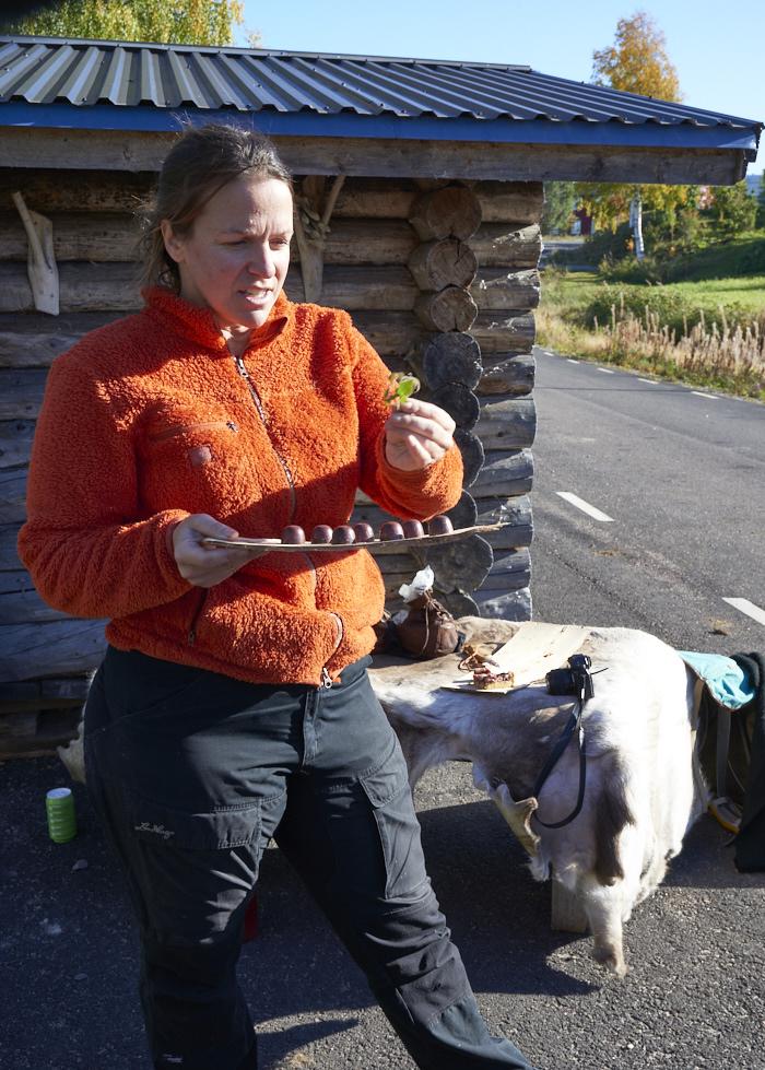 Pia créatrice des chocolats arctic treats