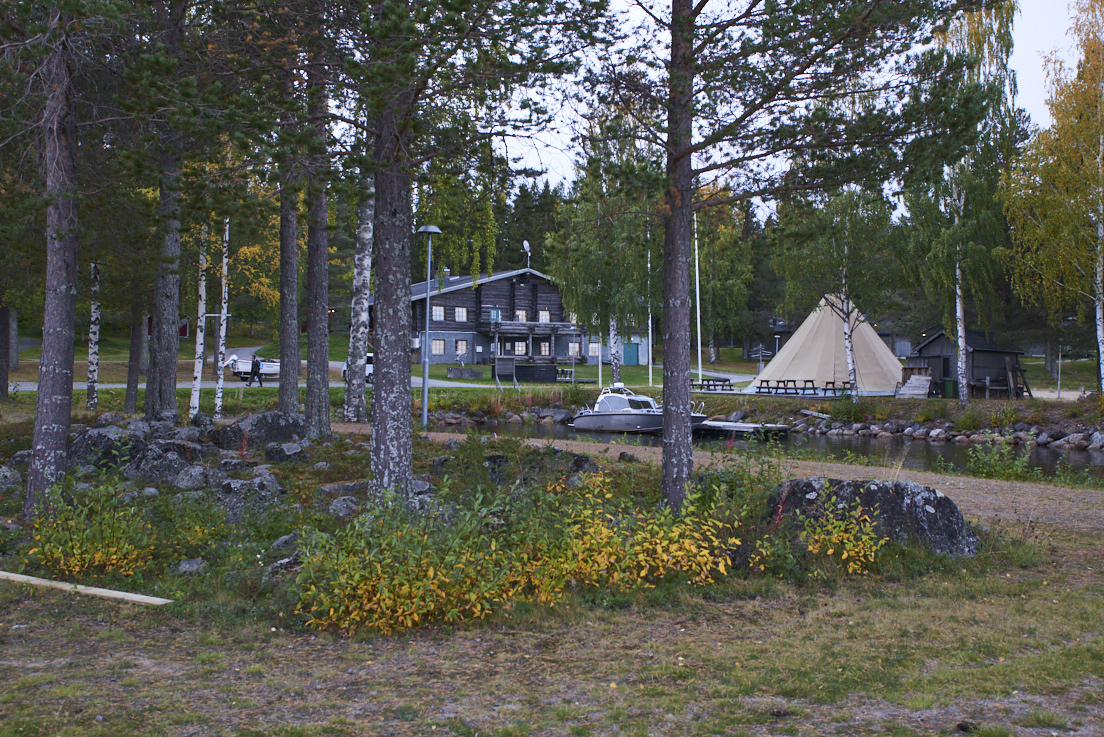 Pina bay lodge à Lulea Suede