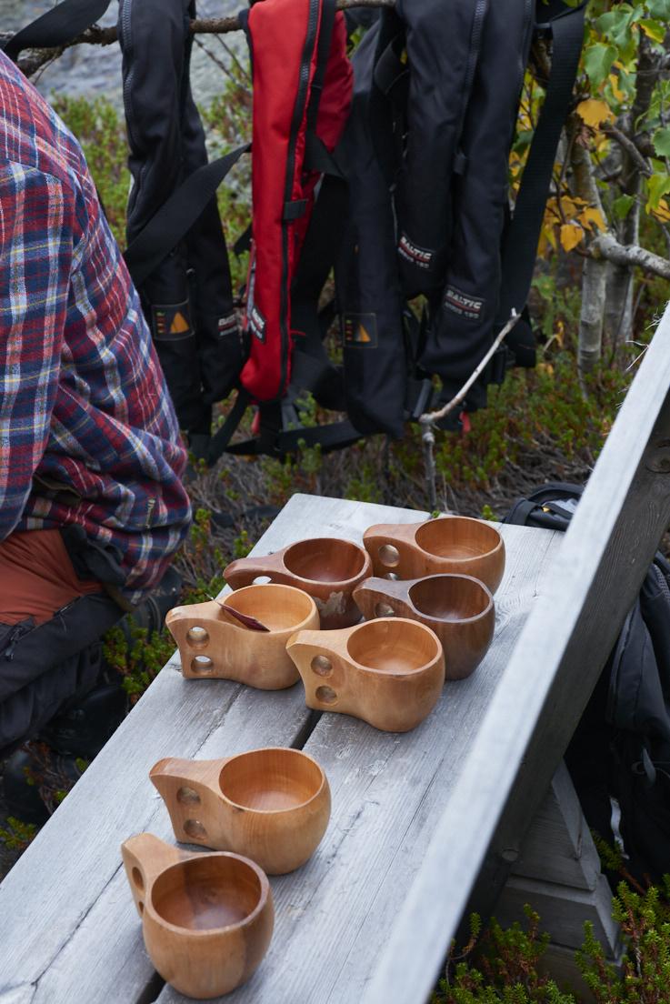tasses en bois Sami Suède