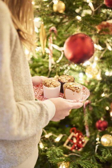 Recette de muffins aux fruits secs