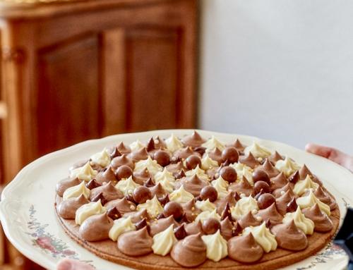 Tarte aux trois chocolats sans gluten