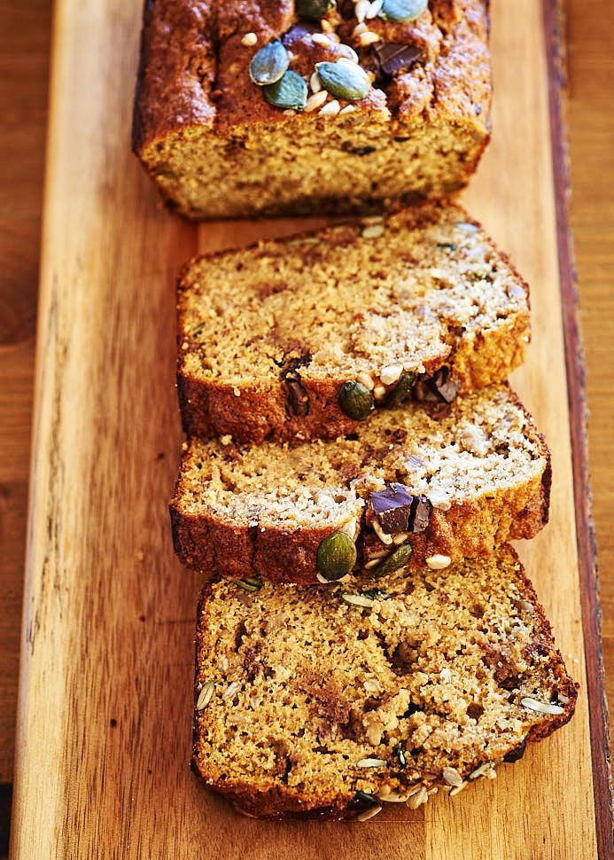 recette de banana bread aux pépites de chocolat