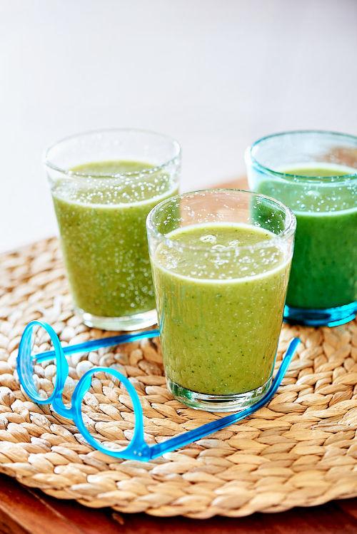 recette de smoothie vert à la scarole