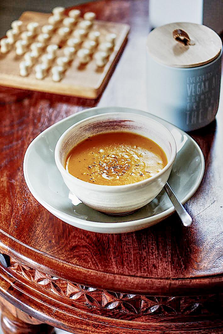 recette de soupe de butternut et pomme de terre