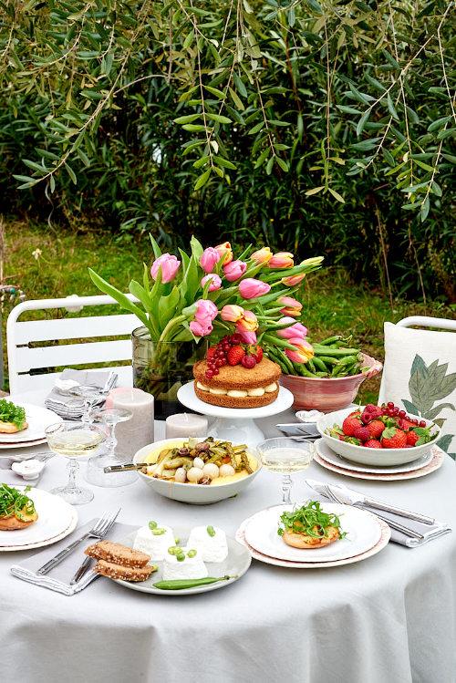 table dejeuner printemps