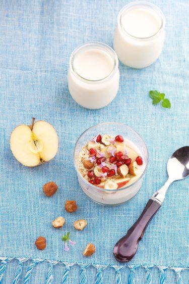 recette de yaourts à la coco