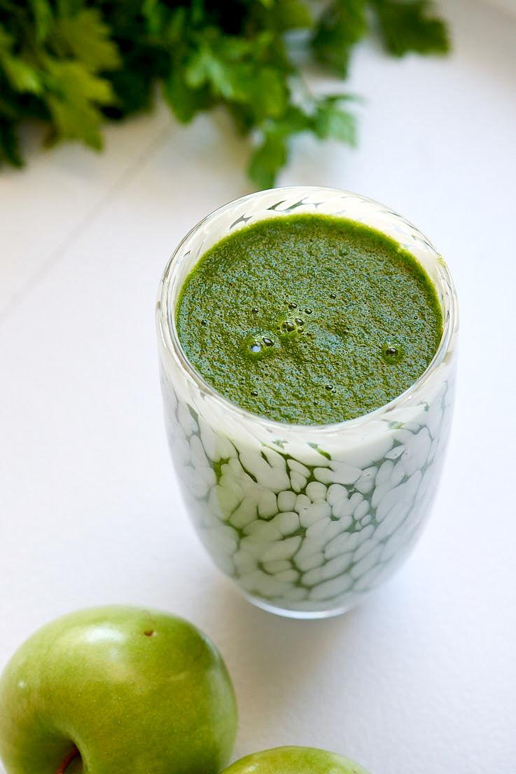 recette de smoothie au persil