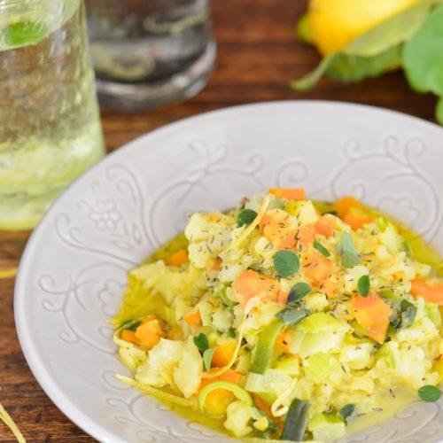 recette de stoemp au curry et zestes de citron