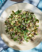 recette de sarrasin aux légumes grillés et pistou