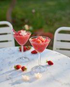 recette de frozé à la fraises